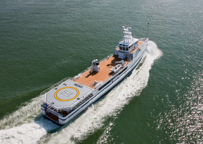Garcon for Ace FYS vessel - A support vessel to the Lurssen yacht ACE