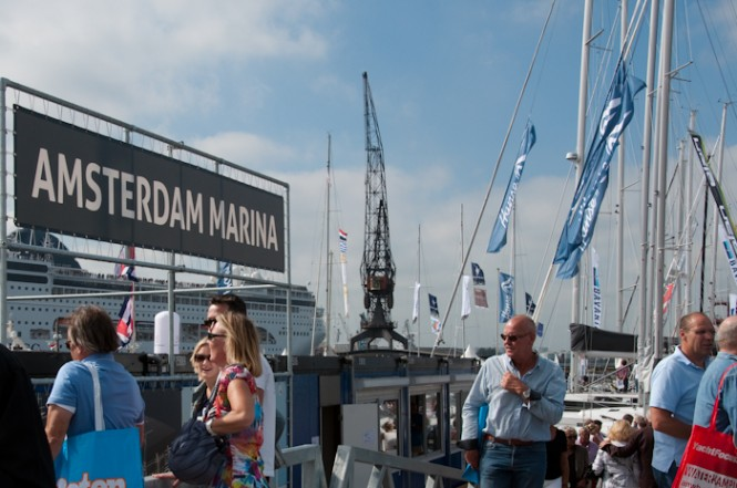 Amsterdam Marina hosting HISWA Amsterdam in-water Boat Show 2012