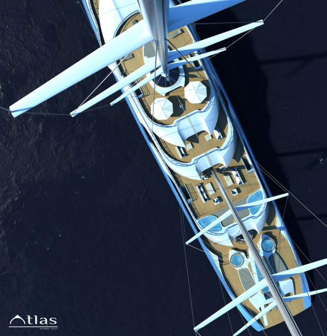 Atlas superyacht - Decks