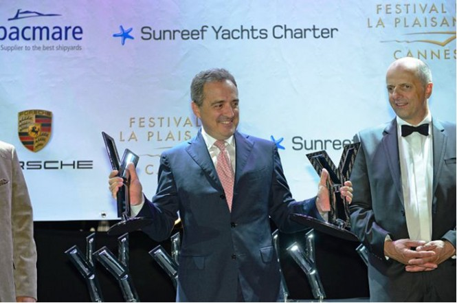 Azimut Yachts wins 2 awards at the 2012 World Yacht Trophy