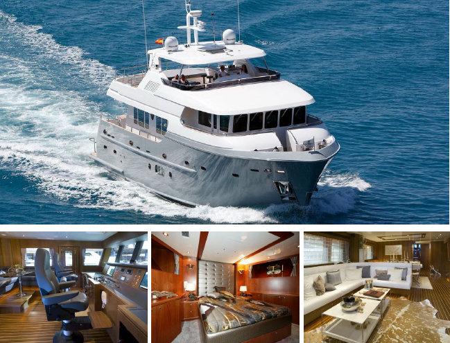 Bandido 75 PJ10972 yacht by Drettmann Yachts