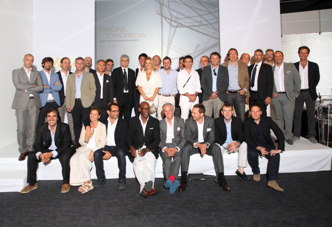 Benetti Press Conference - Monaco Yacht Show - Designer and the Benetti Management Team