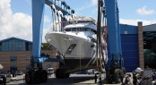 Benetti superyacht Classic Supreme 132 on display in Cannes