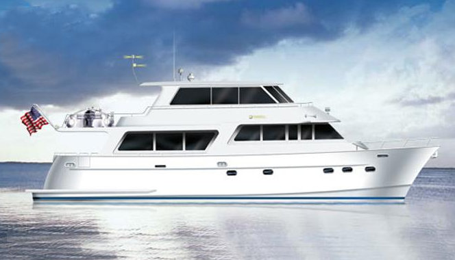 Blue Moon superyacht - Rendering