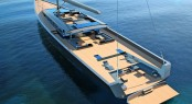 CNB 180 luxury yacht Evoe concept
