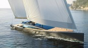 CNB 180 sailing yacht Evoe concept