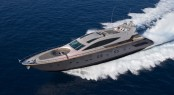 Cerri 102' superyacht running