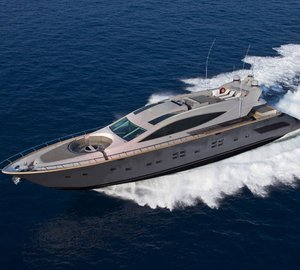 Motor yacht Cerri 102' by Cerri-Gruppo Baglietto in partnership with Rodriguez Group