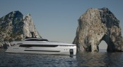 Columbus Sport Hybrid superyacht by Palumbo and Sergio Cutulo