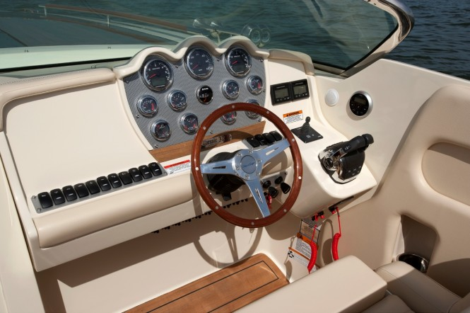 Corsair 32 yacht - Dashboard