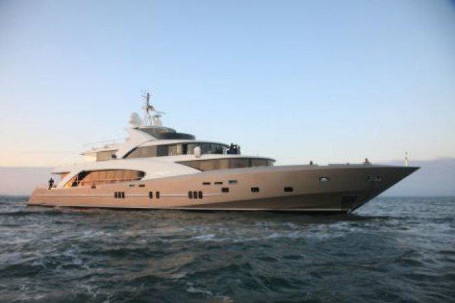 Couach 50m motor yacht La Pellegrina