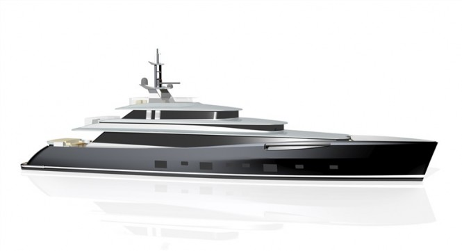 Dubois designed 46m luxury motor yacht 379