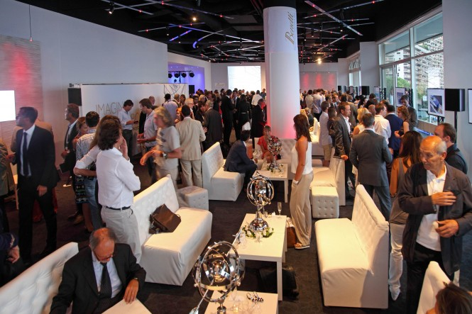 Guests at the Benetti Press Conference at Fairmont Hotel during the 2012 Monaco Yacht Show