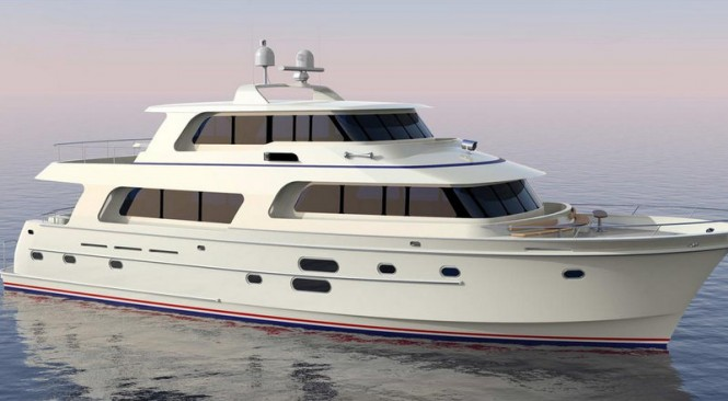 Hampton Endurance 870 superyacht
