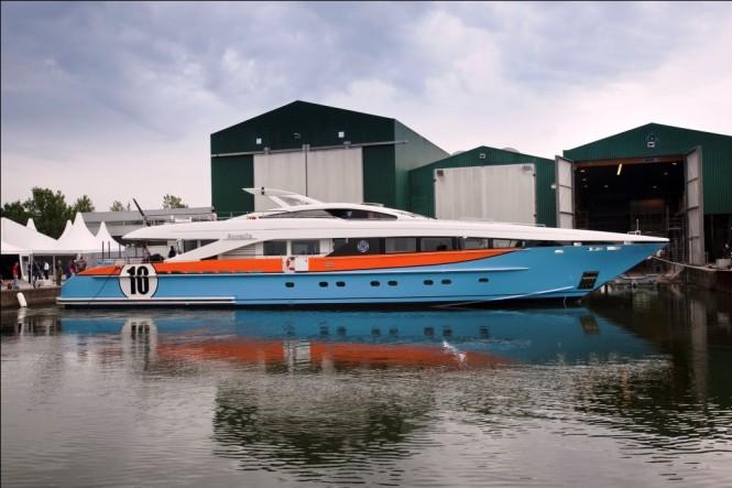 Hessen 37 m Superyacht Aurelia profile - photography by Emilio Bianchi