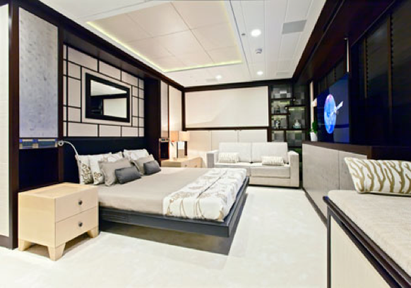 Karia yacht - Guest Room - Interior by Design Unlimited