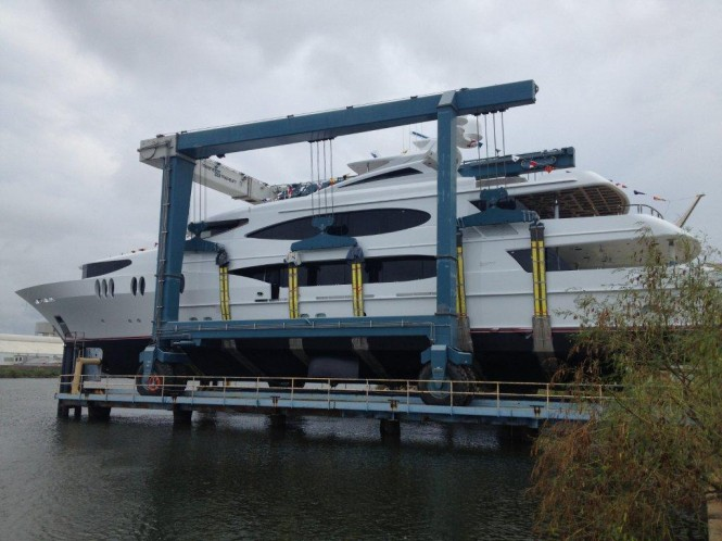 LADY SURA superyacht - Trinity Yachts T-059 Launch