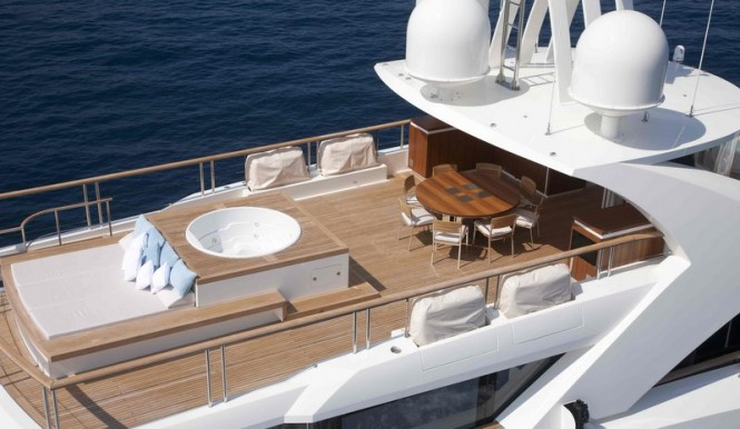 La Pellegrina superyacht - Exterior