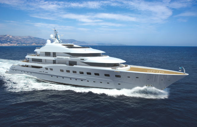 Limited Editions 67m mega yacht Amels 272 - Image courtesy of Amels