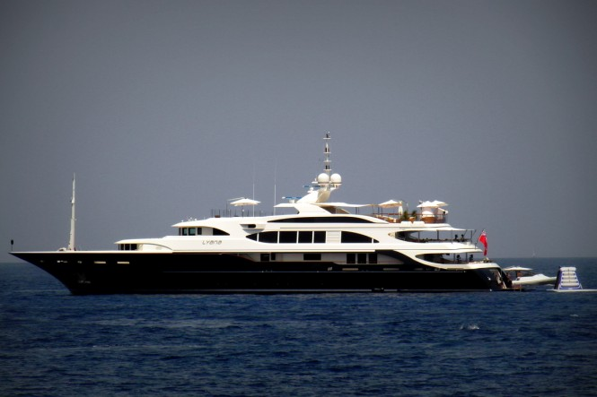 Luxury Yacht LYANA