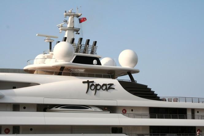 Luxury Yacht TOPAZ - Photo Ian Bugby