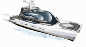 Luxury catamaran yacht Project Oxygen