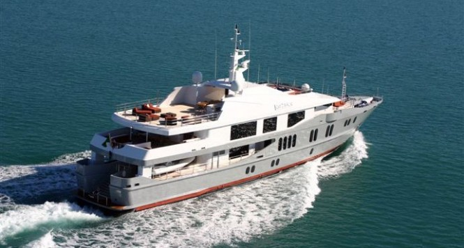 Luxury charter yacht Idol (ex Outback) by Austal