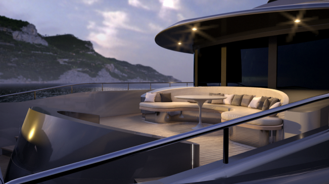 Luxury expedition superyacht Mondo 45 by Sergio Cutolo for Mondo Marine