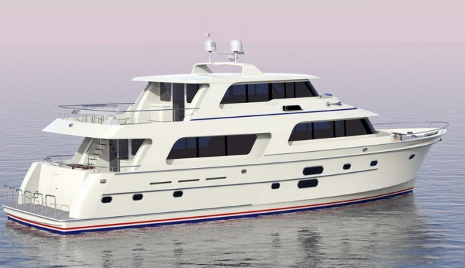 Luxury motor yacht Endurance 870