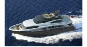 Luxury motor yacht Fifth Ocean 28 - view from above