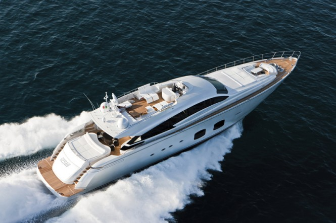 Luxury motor yacht Pershing 108 New Edition by Ferretti Group