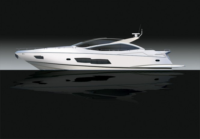 Luxury motor yacht Predator 80 by Sunseeker