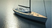 Luxury sailing yacht Contest 72CS - the new flagship of the Contest fleet due to be launched this month