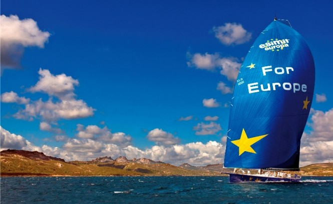 Luxury sailing yacht Esimit Europa 2 For Europe