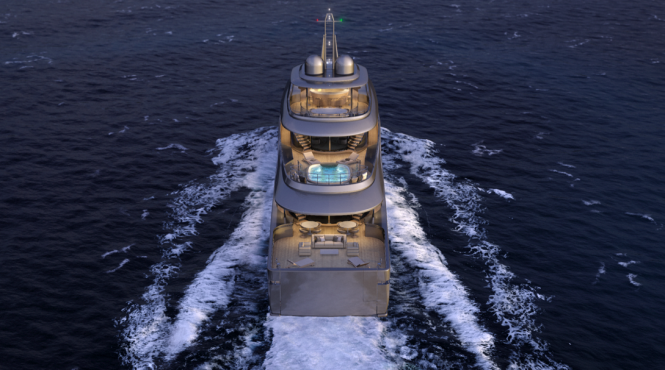 Luxury superyacht MONDO 45 by Sergio Cutolo for Mondo Marine