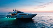Luxury yacht Custom Line 100 - Photo courtesy of Ferretti Yachts