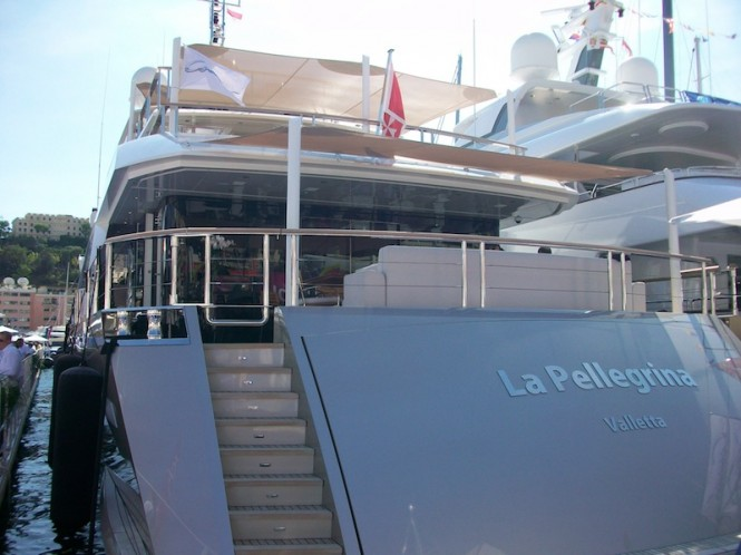 Luxury yacht La Pellegrina