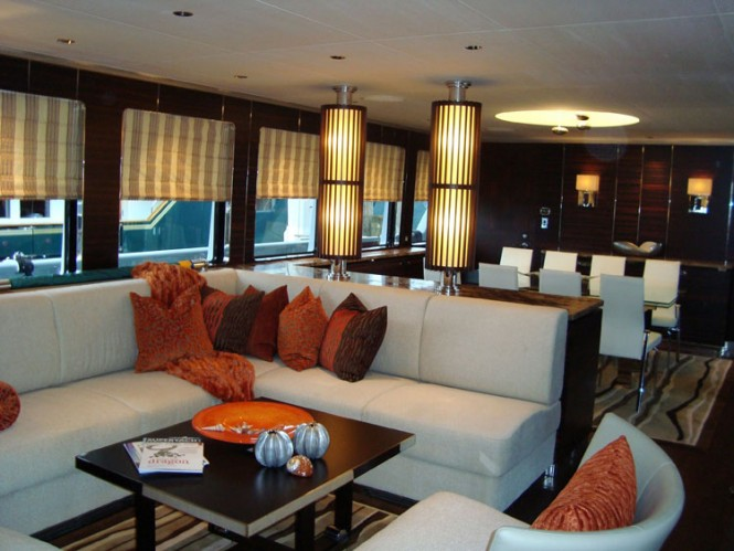 Luxury yacht Mazu - Salon