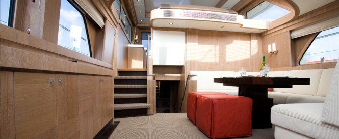 Luxury yacht Mulder 73 Wheelhouse - Interior