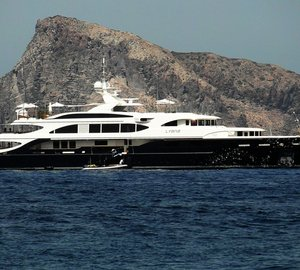 Photos of 60m luxury yacht LYANA  near Panarea - Aeolian Islands of Sicily
