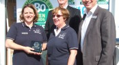 MDL Marinas recieves PBO Green Award