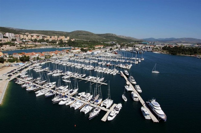 Mandalina Marina - a luxury superyacht marina situated in the popular Mediterranean yacht charter destination - Croatia