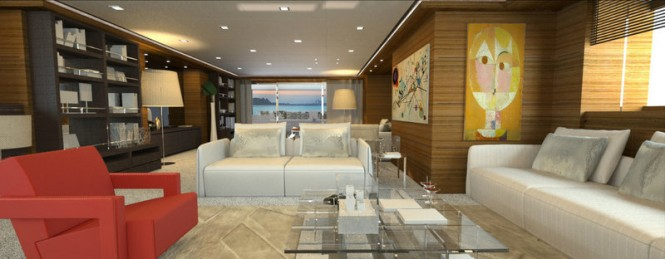Mariotti superyacht Rahil - Interior