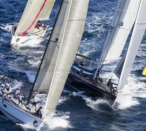 Rolex Swan Cup 2012: Day 2 - Swan yachts started competition as scheduled
