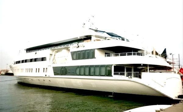Megayacht Saluzi