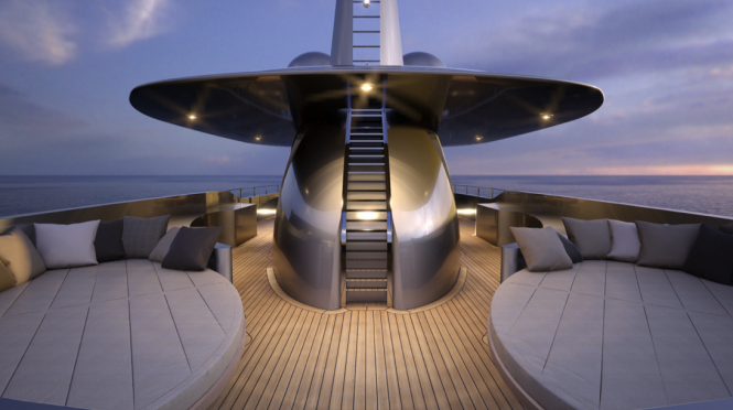 Mondo 45 Superyacht by Mondo Marine designed by Sergio Cutolo