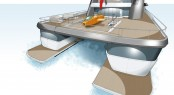 Motor yacht Project Oxygen XSS - sub launch 1