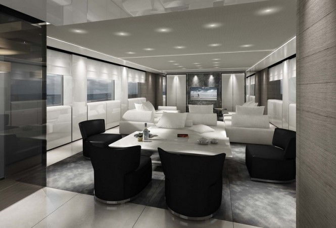 Motor yacht SL118 - Interior