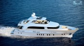 The first Mulder 95 Voyager superyacht