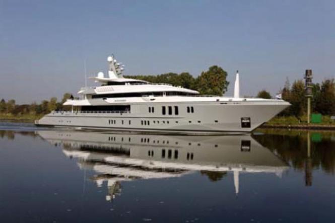 Nobiskrug 74m luxury motor yacht Mogambo